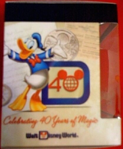 Disney Vinylmation Celebrating 40 Years Of Magic Animal Kingdom Figure New In Box Side 2