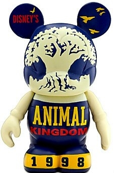 Disney Vinylmation Celebrating 40 Years Of Magic Animal Kingdom Figure New Out Of Box Front Stock Photo