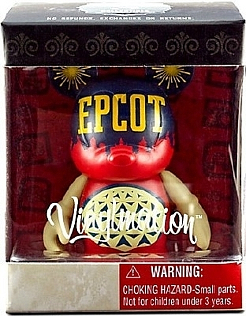 Disney Vinylmation Celebrating 40 Years Of Magic Epcot Figure New In Box Front