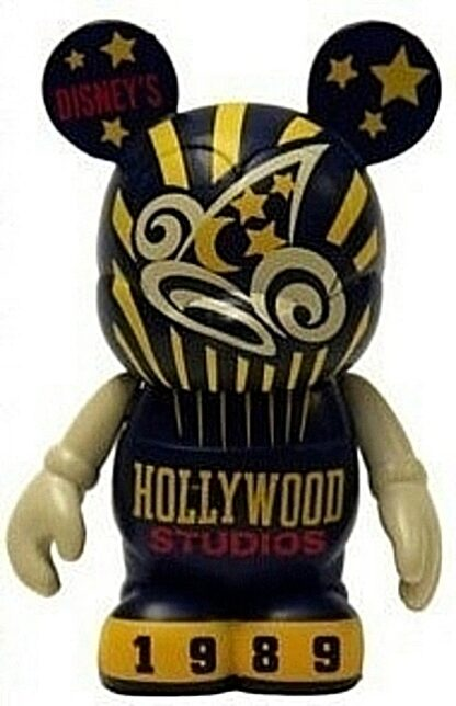 Disney Vinylmation Celebrating 40 Years Of Magic Hollywood Studios Figure Out Of Box Front Stock Photo