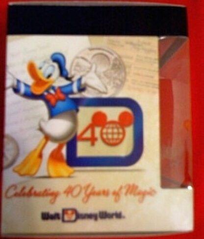 Disney Vinylmation Celebrating 40 Years Of Magic Magic Kingdom Figure New In Box Side 2