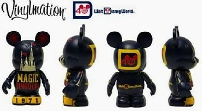 Disney Vinylmation Celebrating 40 Years Of Magic Magic Kingdom Figure New Out Of Box 4 Views Stock Photo