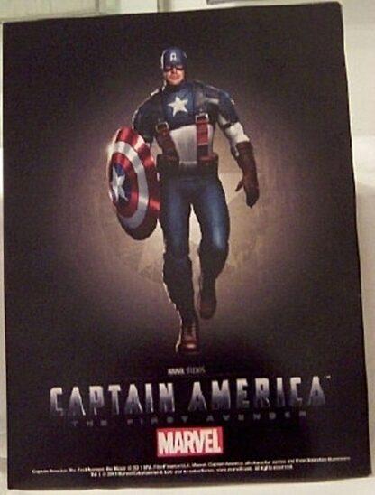 Marvel Captain America The First Avenger Official Movie Magazine New Back