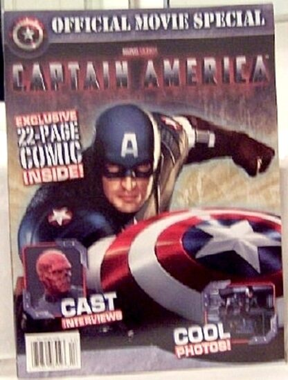 Marvel Captain America The First Avenger Official Movie Magazine New Front