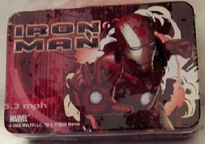 Marvel Iron Man Collectible Mini Tin Container New Front