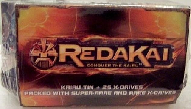 5CARDS X-DRIVE MADE  U.S.A REDAKAI PACK SPIN MASTER