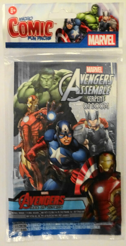 Serpent Of Doom Micro Comic Marvel Avengers New Sealed Front