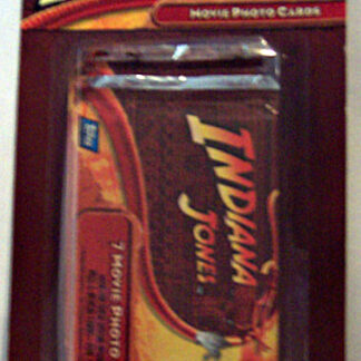 Topps Indiana Jones Movie Photo Cards 2 Packs 7 Cards Each New Front