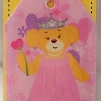 Build-A-Bear Princess Luggage Tag New In Pack Front