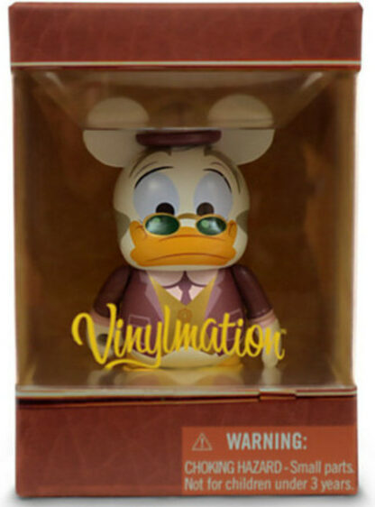 Disney Ludwig Von Drake Mechanical Kingdom Series Vinylmation 3 Inch Figure New In Box Front