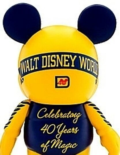 Disney Vinylmation Celebrating 40 Years Of Magic 1971 Stock Photo Out Of Box Back