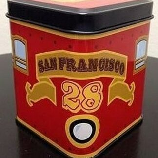 Disney Vinylmation San Francisco Red Trolley 3'' Figure New 1
