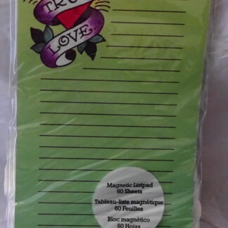 Ed Hardy True Love Magnetic Listpad 60 Sheets New In Pack Front