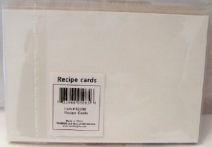 Housework Can't Kill You Recipe Note Cards Back