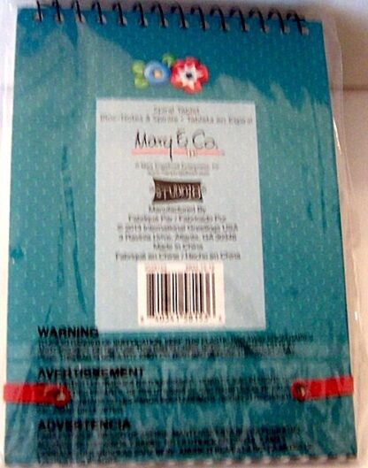 Mary Engelbreit Tea Is A Cup Of Life Spiral Tablet #80 Sheets New Back