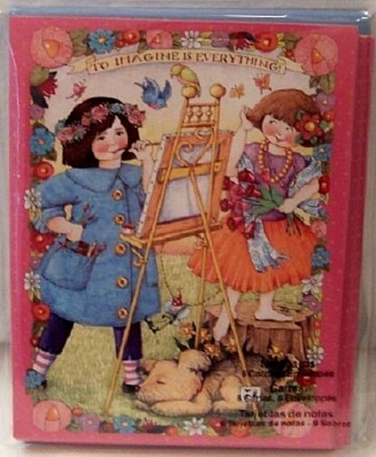 Mary Engelbreit To Imagine Is Everything Notecards New Front