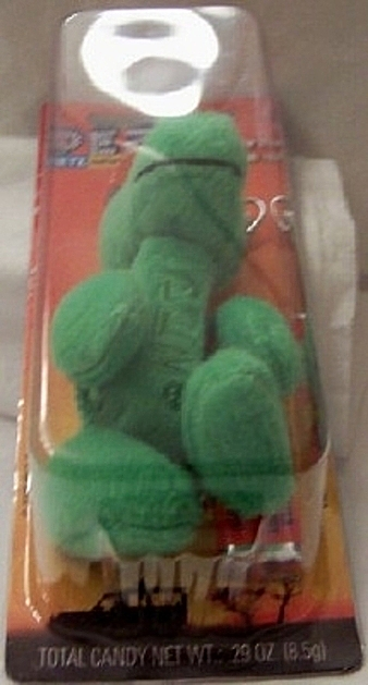 PEZ Petz Safari Babies Gator Candy Dispenser And Key Chain New Bottom