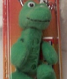 PEZ Petz Safari Babies Gator Candy Dispenser And Key Chain New Front