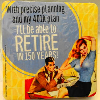 Retire 150 Years Coasters #6 New Front