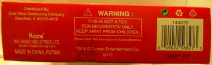 A Christmas Story Ornaments Set #5 Pieces Minis New In Box Bottom