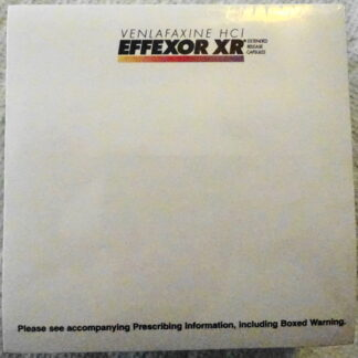 Effexor XR Wyeth Pad 2005 Drug Rep Logo Collectible New Top