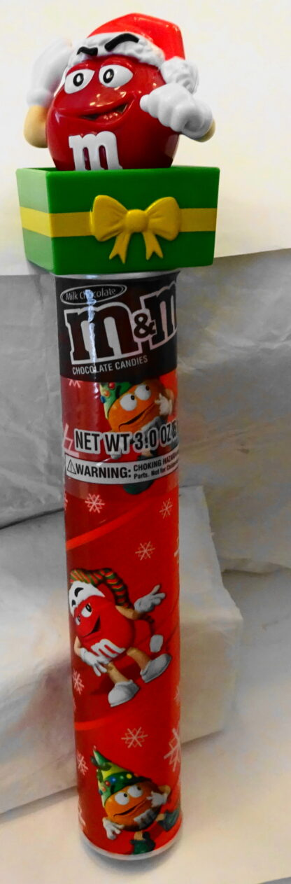 M&M'S Santa M & M'S Red Christmas Topper New Front