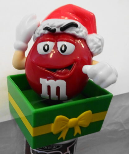 M&M'S Santa M & M'S Red Christmas Topper New Topper Front