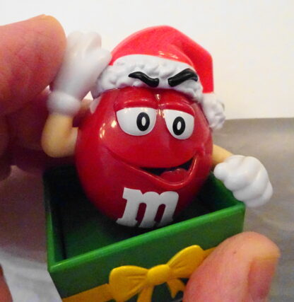 M&M'S Santa M & M'S Red Christmas Topper New Topper Moveable 4