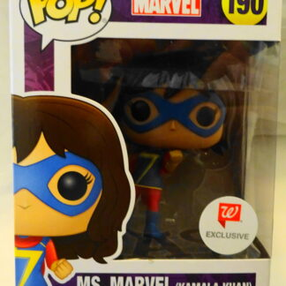 Marvel Pop Funko Kamala Khan (Ms. Marvel) Walgreens Exclusive #190 Bobble-Head Figure New In Box Front