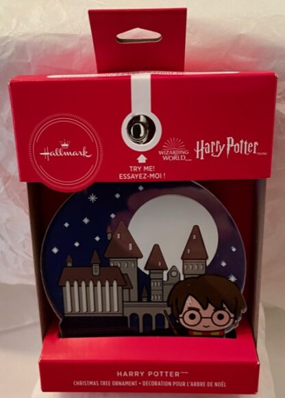 Harry Potter Christmas Ornament New In Box Stock Photo