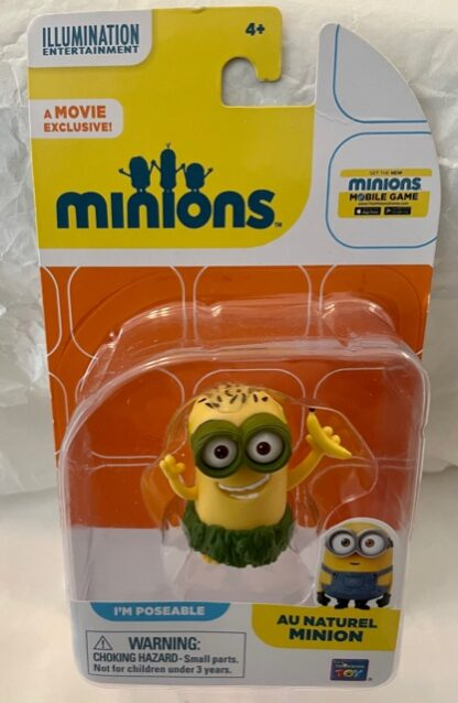 Au Naturel Minion Figure New In Pack Front
