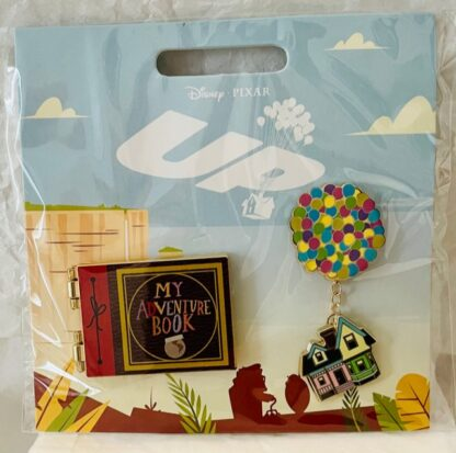 Disney Up Pin Set New On Card Front