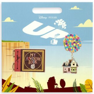 Disney Up Pin Set New On Card Stock Photo