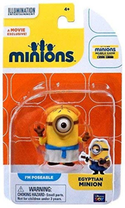 Egyptian Minion Poseable Figure New In Pack Stock Photo