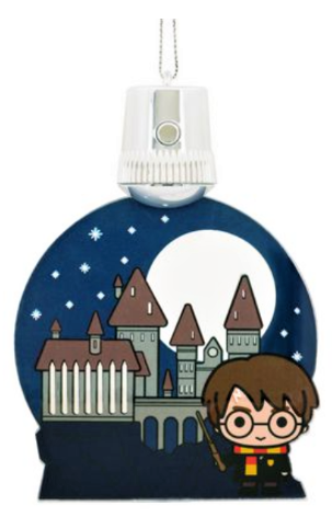 Harry Potter Christmas Ornament Out Of Box Stock Photo