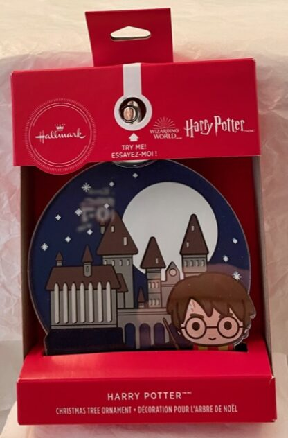 Harry Potter Christmas Ornament New In Box Front 1