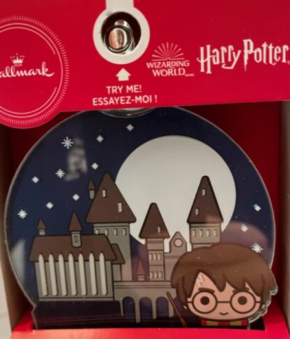 Harry Potter Christmas Ornament New In Box Front Closeup