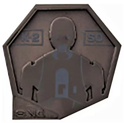 Star Wars Droid Badge K-2SO Limited Edition Pin Stock Photo
