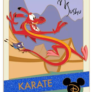 Disney Mulan Mushu Pin Limited Edition New Stock Photo New