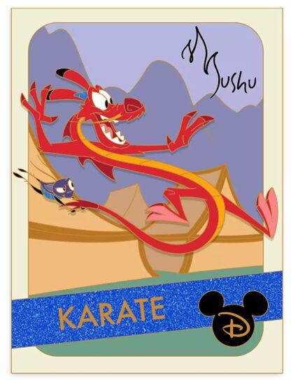 Disney Mulan Mushu Pin Limited Edition New Stock Photo New