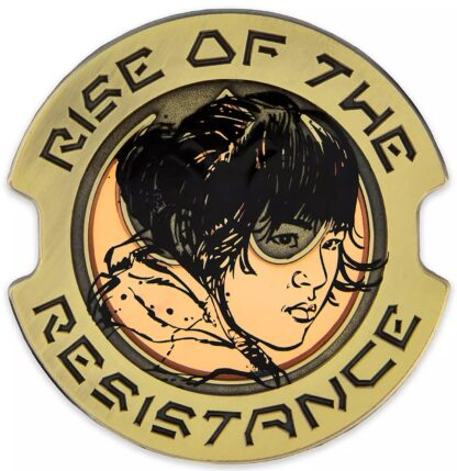 Star Wars Rose Tico Limited Edition Pin Stock Photo