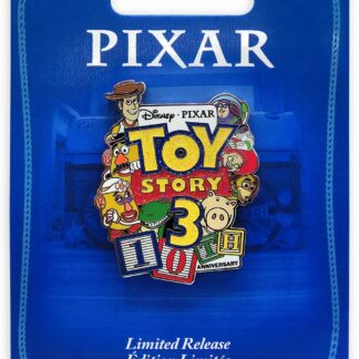 Toy Story 3 Pin 10th Anniversary Limited Release On Card Stock Photo