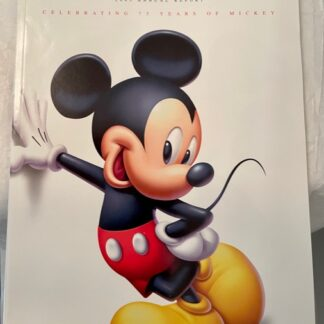 Disney 2003 Annual Report Front