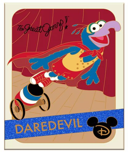 Disney Muppets Gonzo Pin Trading Card Series Limited Edition New Stock Photo