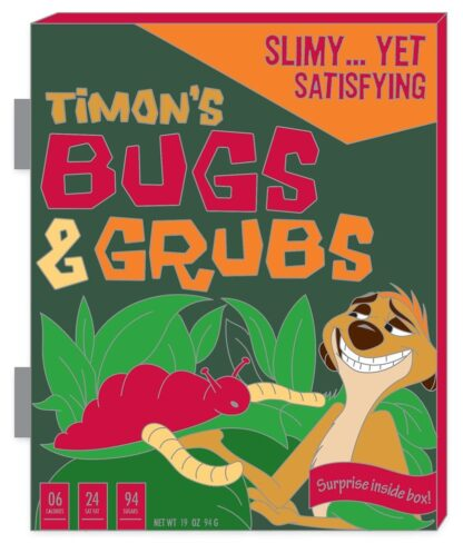 Timon Lion King Pin Bugs & Grubs Limited Edition Stock Photo