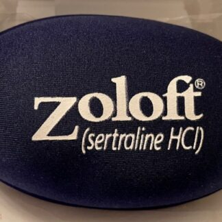 Zoloft Mouse Wrist Pad Drug Rep Logo New Front