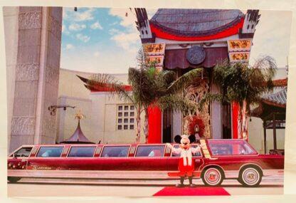 Disney Mickey LiMouseine Postcard Front