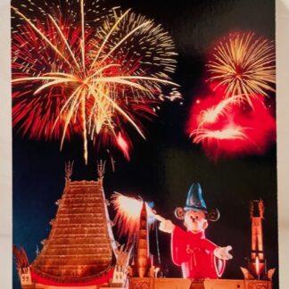 Disney Mickey Sorcery Postcard New Front