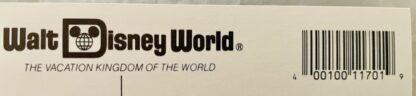 WDW Cinderella Castle Postcard MK New Back Closeup Top