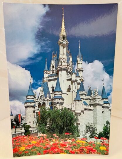 WDW Cinderella Castle Postcard MK New Front